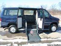 This is a very nice Ford Econoline Wheelchair