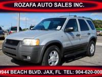 This is a great 2002 Ford Escape It has beautiful