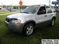 2002 FORD ESCAPE SUV Our Location is: Mike Shad Ford