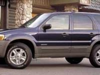 Snatch a deal on this 2002 Ford Escape XLS Choice