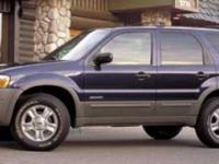 Sturdy and dependable, this Used 2002 Ford Escape XLT