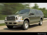 This 2002 Ford Excursion Limited in Green features: 4WD