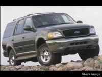 You can expect a lot from the 2002 Ford Expedition!