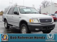 New Price! Great Deal on this 2002 Ford Expedition.