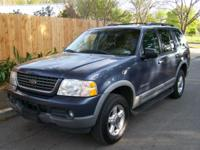 Bring the whole crew in this 2002 Explorer XLT with 3rd