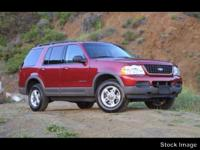 You can expect a lot from the 2002 Ford Explorer!