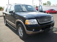 Options Included: N/A2002 Ford Explorer Eddie Bauer 2wd