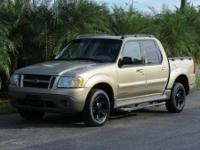 2002 FORD EXPLORER SPORT TRAC, AUTO, ICE COLD A/C,