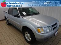 4WD. Don't wait another minute! Right SUV! Right price!