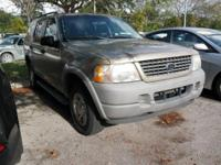 Options:  2002 Ford Explorer Xls|Gold|Limited Slip Rear