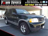 Options:  2002 Ford Explorer Xlt|Four Wheel Drive| Tow