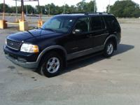 Options Included: N/A2002 FORD EXPLORER XLT WITH 3RD