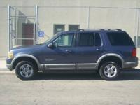 2002 FORD EXPLORER XLT, AUTOMATIC/TRANSMISSION, 6