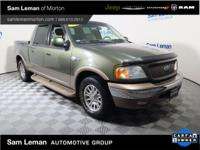 2002 Ford F-150 King Ranch 4Dr Crew Cab One Owner Clean