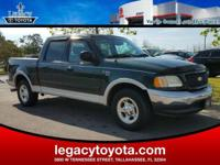 Clean CARFAX. New Price! 4.6L V8 EFI. 2002 Ford F-150