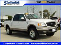 Options:  2002 Ford F-150 Lariat|4Dr Supercrew Lariat