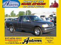 2002 Ford F150 XLT Extended Cab 2 Wheel Drive with Grey
