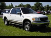 Stock # A8412. King of the hill Lariat! 2002 F-150