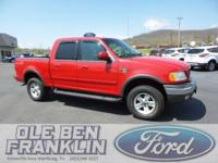 Options:  2002 Ford F-150 Xlt|Red/|V8 5.4L