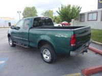2000 Ford F150 XLT Super Cab 4dr. V8 5.4 Liter Engine,