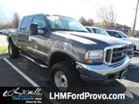 Check out this reliable 2002 Ford Super Duty F-250 .