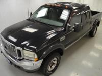 2002 FORD F250. CREW CAB. 7. POWER STROKE DIESEL.