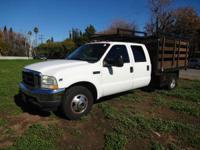 2002 Ford F-350 2002 Ford F-350 Crew Cab Flatbed 2002