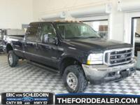 4X4, LOCAL TRADE, CLEAN CARFAX, TOWING PACKAGE, and 6.7