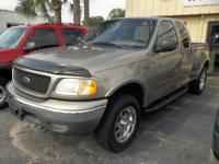 2002 Ford F150 4x4 SuperCab Flareside Vin: