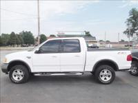 Options Included: N/A2002 FORD F150 XLT CREW CAB FX4