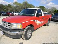 2002 Ford F150 XL Reg Cab, Long Wheel Base, (Duel Fuel