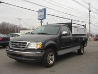 2002 FORD F150: This Charcoal on Gray Ford F150 XLT