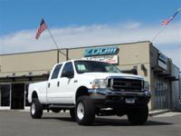 Our 2002 Ford F-250 Super Duty XLT CrewCab 4WD is ready