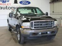 CARFAX One-Owner. Clean CARFAX. Black 2002 Ford F-250SD