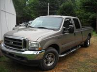 Great running truck. 7.3l Powerstroke diesel - the best