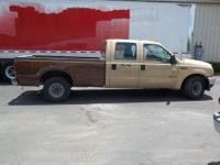 This is a 2002 Ford F350 Crew Cab Truck. It is 2 wheel