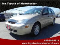 Ira Toyota of Manchester presents this 2002 FORD FOCUS