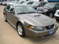 Options Included: N/AThis Mineral Gray 'Stang Is A Rear