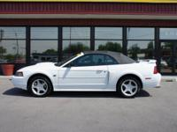 Have we got the convertible for you! This 2002 Mustang