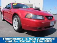 2002 Ford Mustang GT Convertible Deluxe...Just in Time