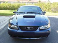 2002 Ford Mustang GT Deluxe With 111,400 Miles Dark