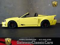 Stock #546-TPA 2002 Ford Mustang Saleen  $26,995