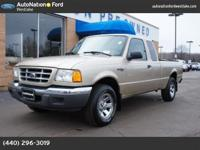 This low mileage| hard to find Ranger supercab is