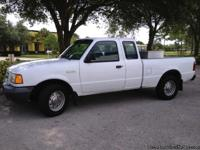 This 2002 Ford Ranger Extended cab pick-up truck is a