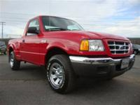 This 2002 Ford Ranger XLT Truck features a 2.3L L4 FI