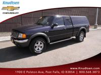 Options:  2002 Ford Ranger Xlt|Blue|Gray|All Around