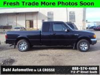 Recent Arrival! 2002 Ford Ranger XLT Ext Cab Clean