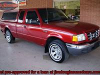 2002 Ford Ranger Ext Cab XLT Pre-Owned. This truck