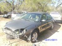 parting out 2002 ford taurus motor and transmission are