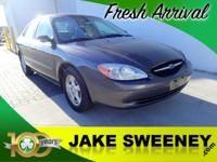 Our 2002 Ford Taurus SE Standard Sedan in Silver will